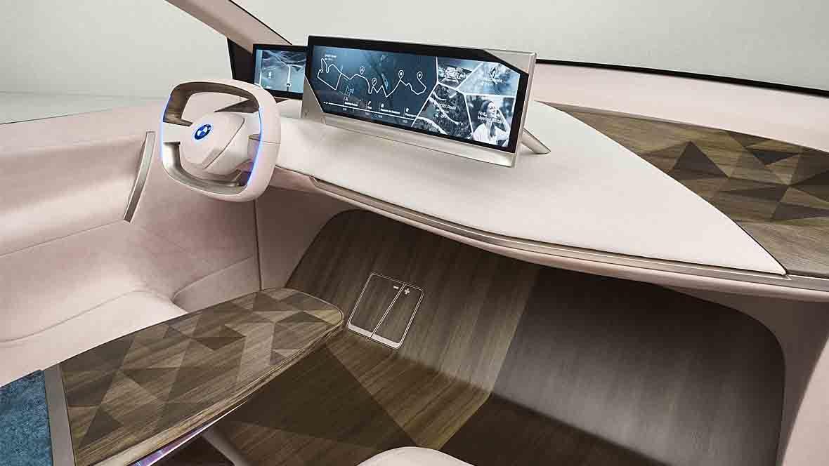 BMW Cockpit Vision iNext
