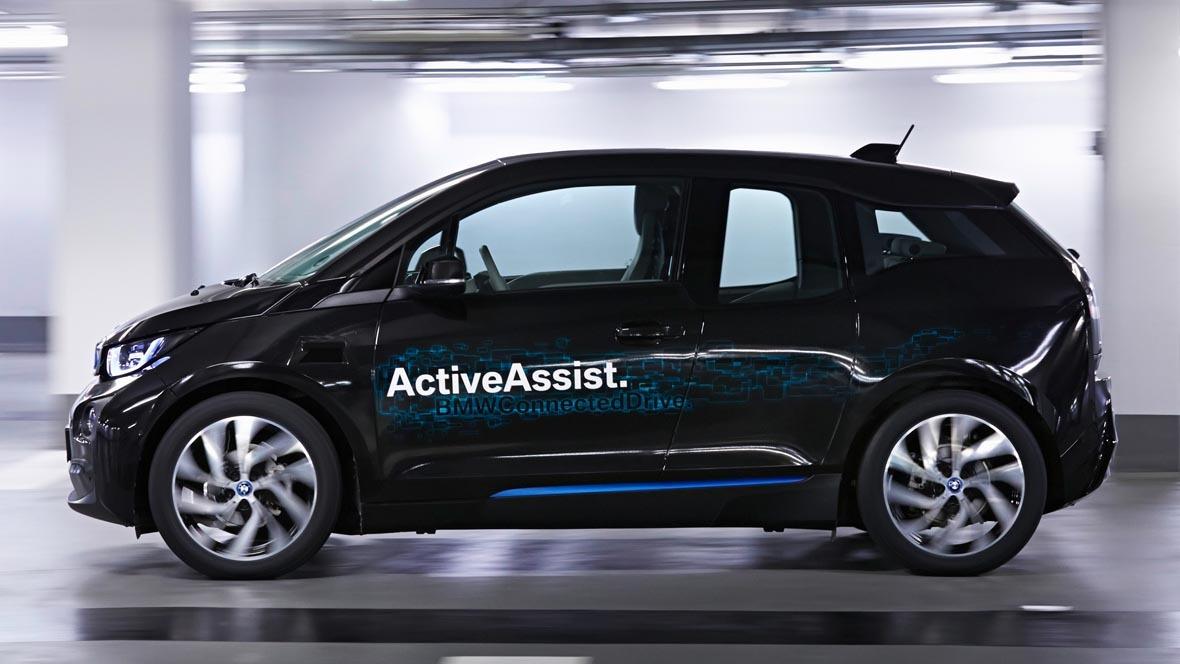 Automatisiertes Parken bei BMW