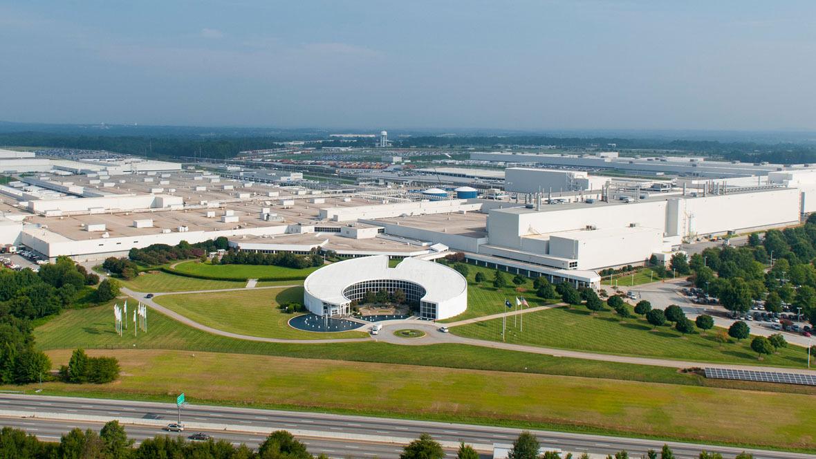 BMW-Werk in Spartanburg in den USA