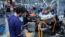 BMW-Werk Leipzig; Fabrik; Konjunktur; Industrie; Autohersteller; Elektromobilität