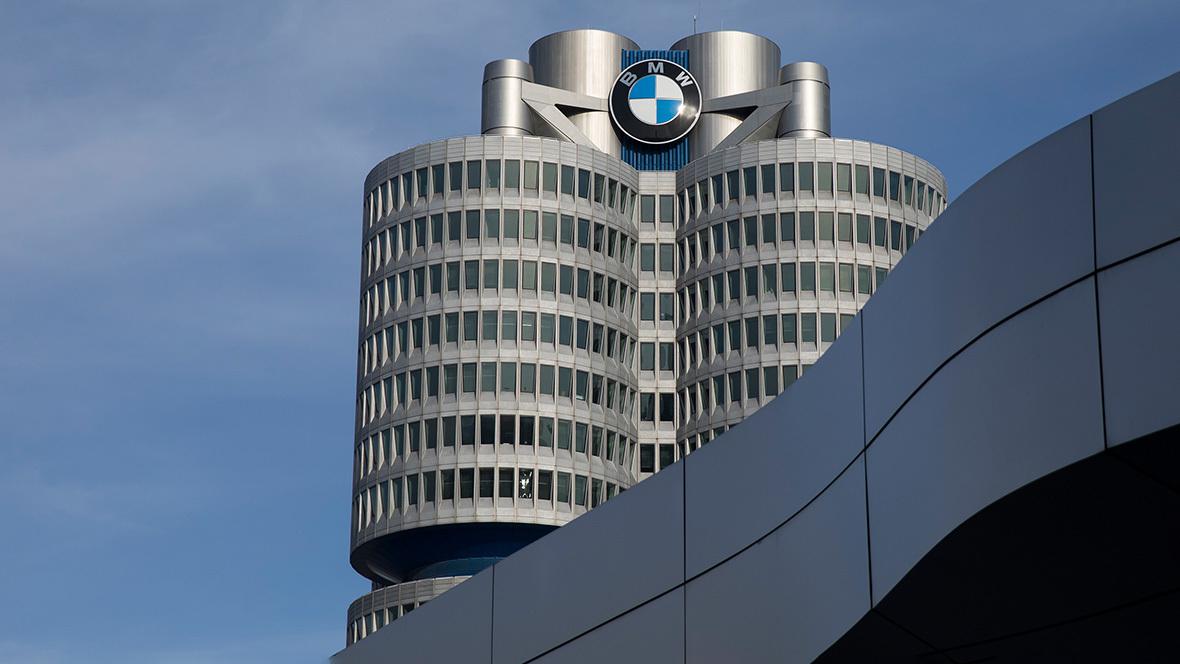BMW Zentrale; Konzernzentrale; BMW Logo;