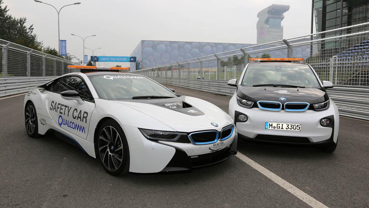 BMW i8 und i3