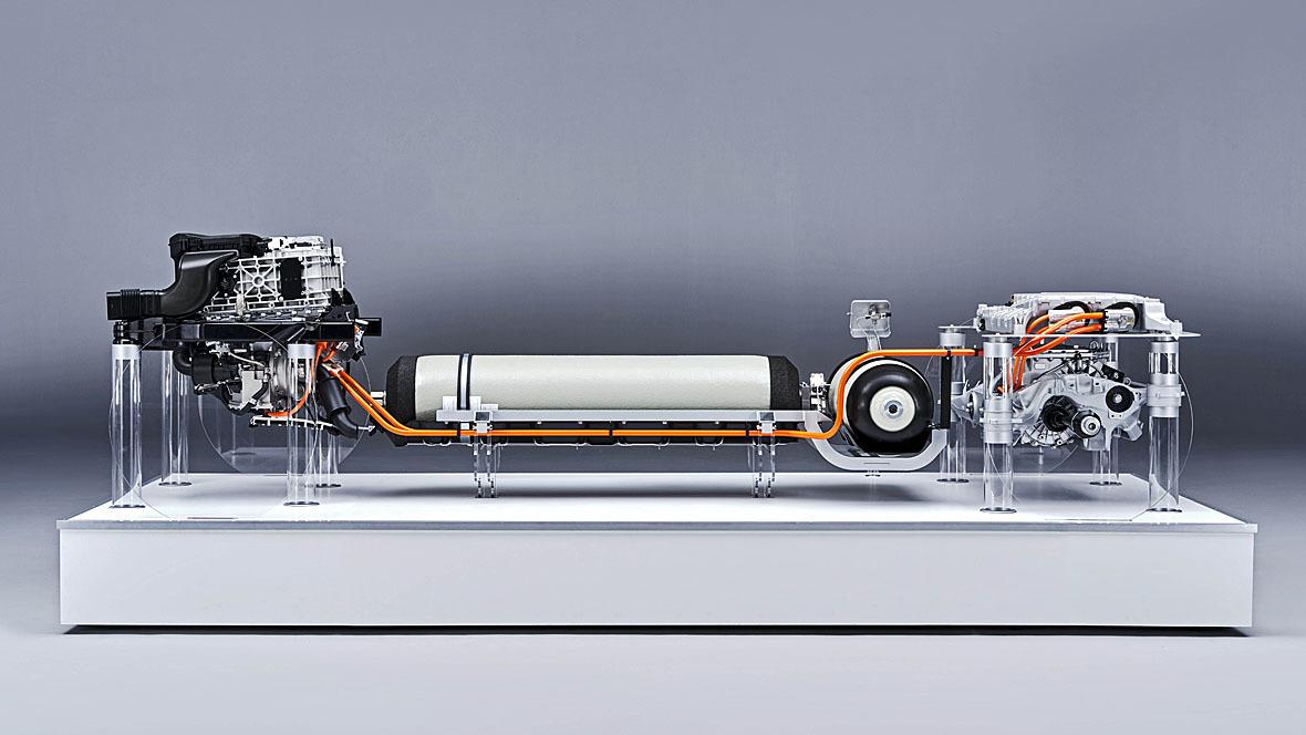 BMW iHydrogen Antriebsstrang