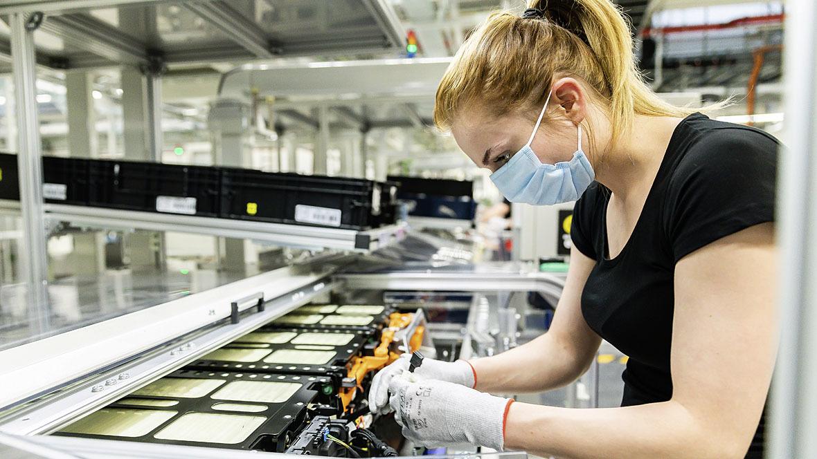Mercedes-Benz Batterieproduktion