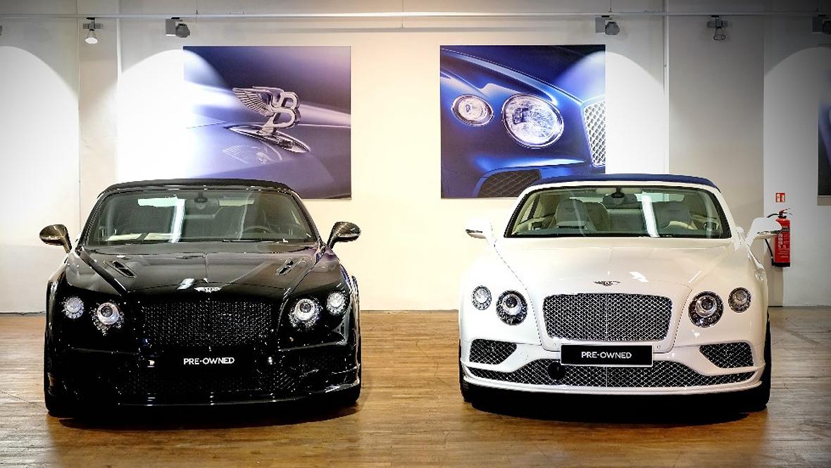 Bentleys aus der Wollfabrik