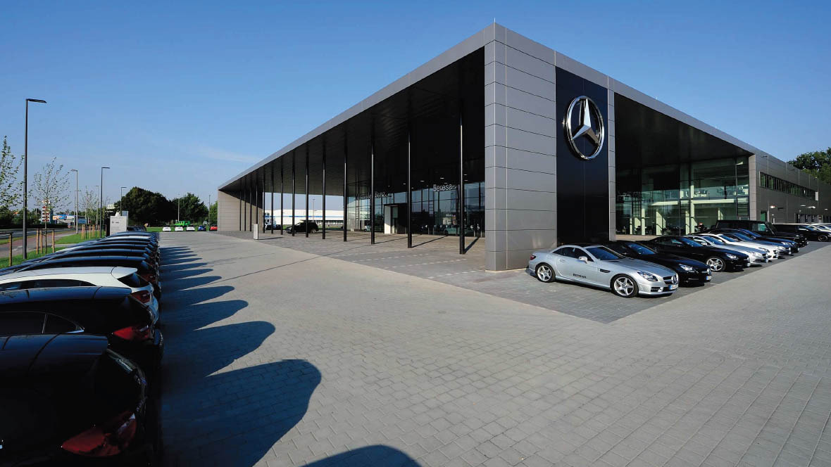 beresa autohauses der zukunft in m nster. Black Bedroom Furniture Sets. Home Design Ideas