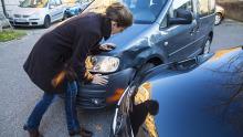 Blechschaden, Auffahrunfall, Schadenprozess; Schadenmanagement; Unfall; Crash