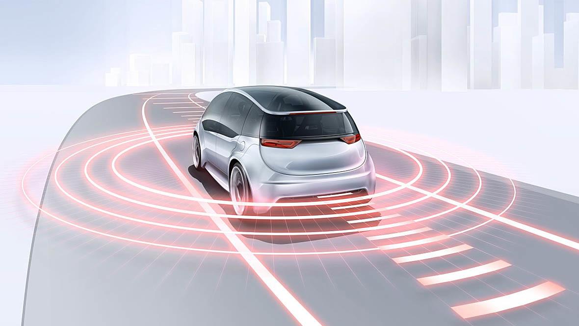 Bosch Laserradar Automatisiertes Fahren