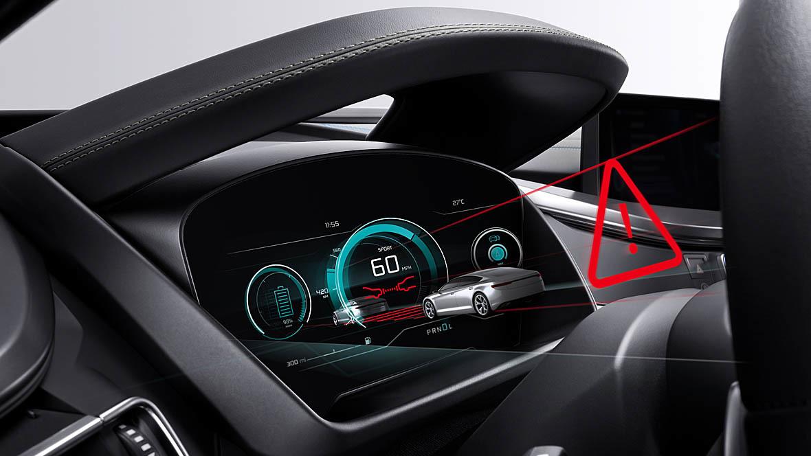 Bosch Dreidimensionales Cockpit