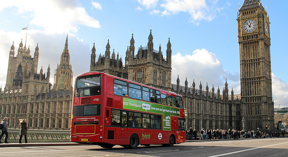 Londoner Busse fahren mit Diesel aus Kaffeesatz