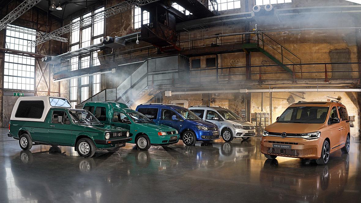 VW Caddy 5. Generation (2021)
