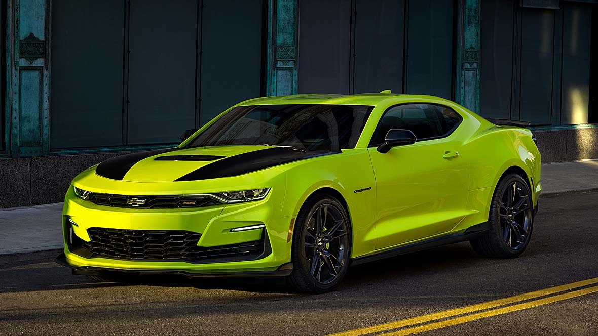 Chevrolet Camaro Shock Yellow