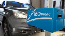 Capelec Scheinwerferprüfung