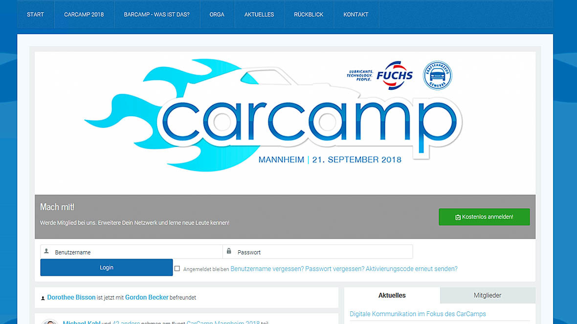 CarCamp 2018