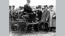 Patent-Motorwagen Carl Benz und Gottlieb Daimler