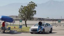 Test Fußgängerschutz-Systeme