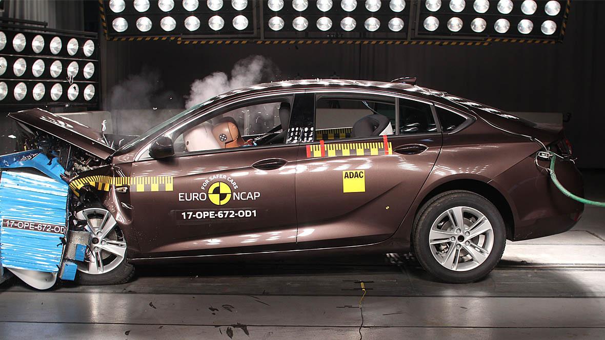 Euro-NCAP-Crashtest Opel Insignia