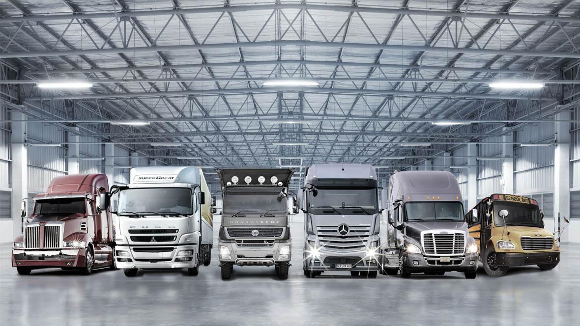 Daimler Lastwagen Lkw