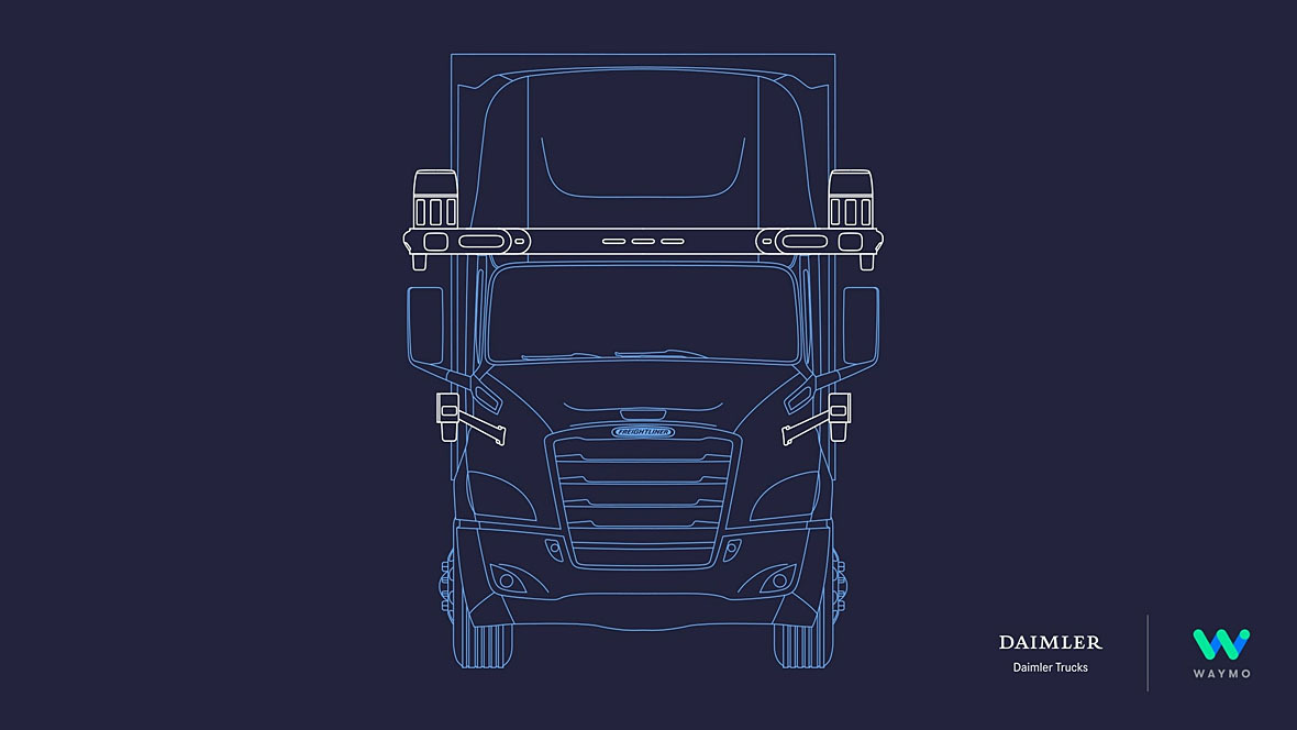 Daimler Waymo Autonomes Fahren