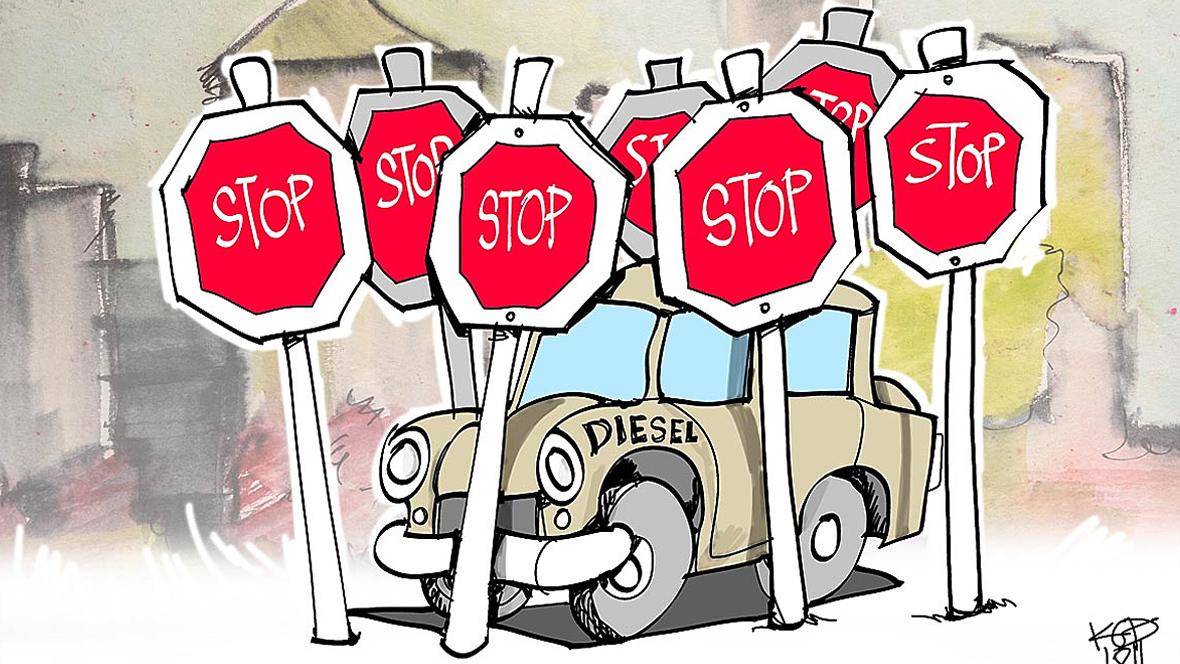 Fahrverbot Diesel