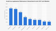 Zulassungsstatistik E-Autos 2019 Deutschland