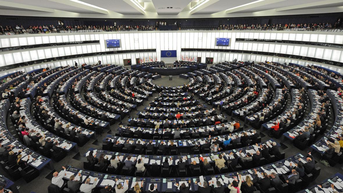 Europäischen Parlaments in Straßburg