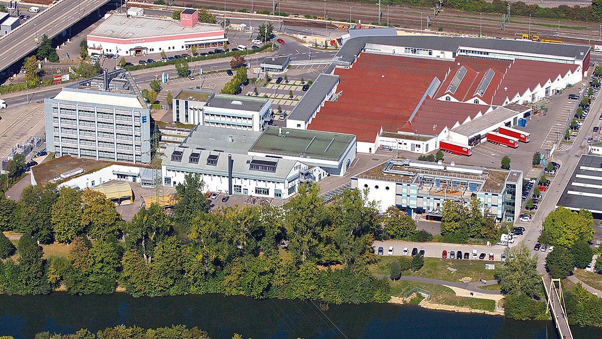 Eberspächer Stammsitz Esslingen