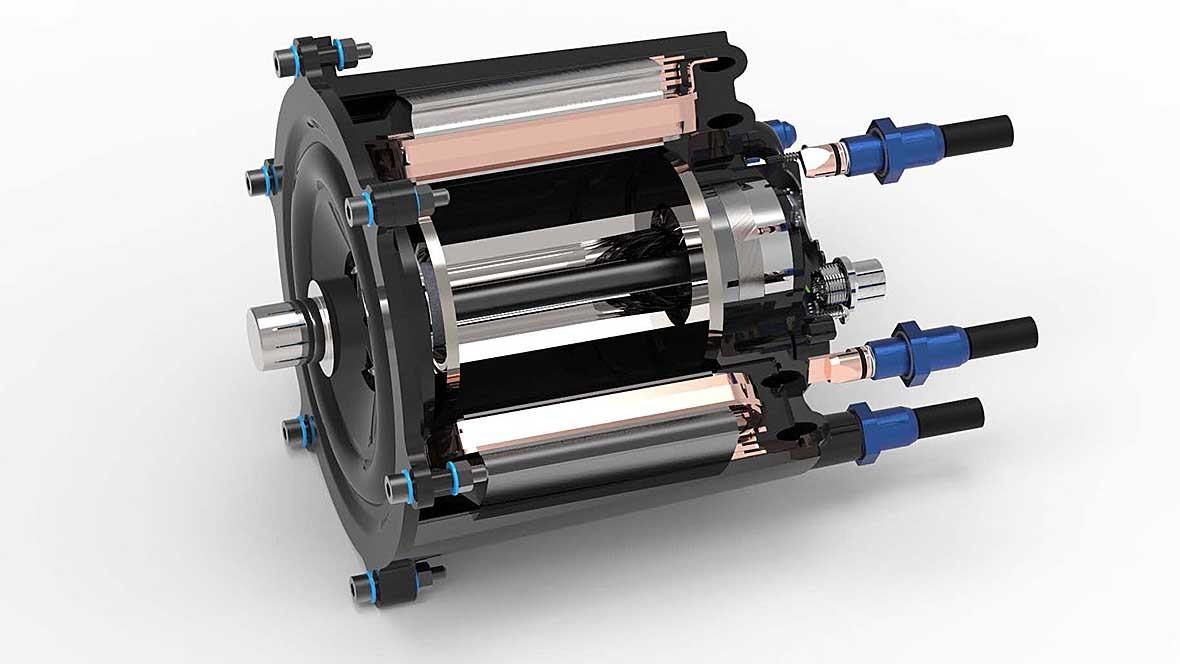 Plastikmotor für E-Autos