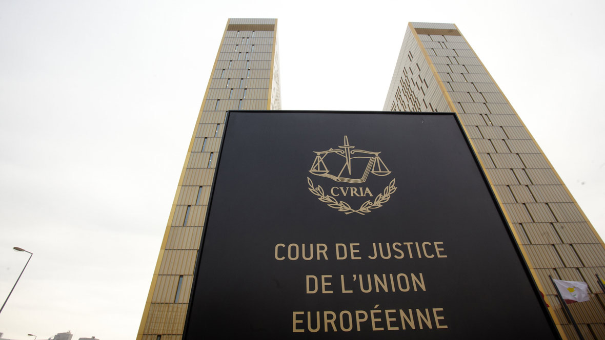 Europäischer Gerichtshof EuGH Luxemburg