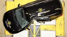 Nissan X-Trail im EuroNCAP-Crashtest