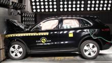 EuroNCAP Porsche Cayenne
