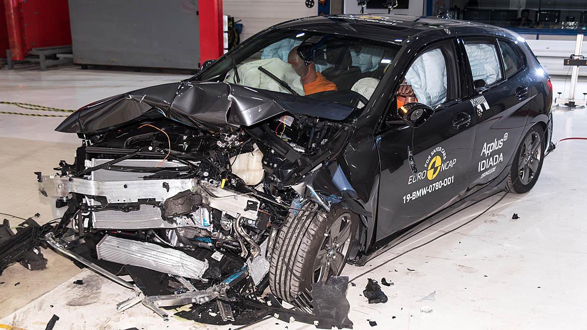 EuroNCAP Crashtest BMW 1er