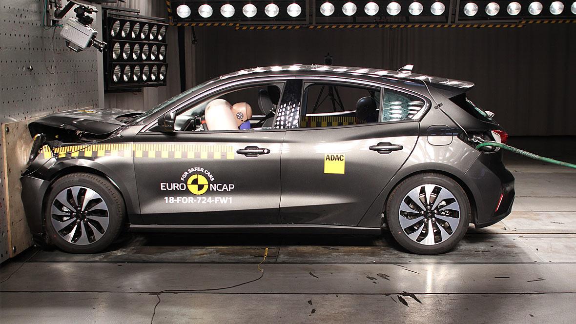 EuroNCAP Crashtest Ford Focus (2019)