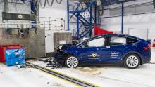 EuroNCAP Tesla Model X