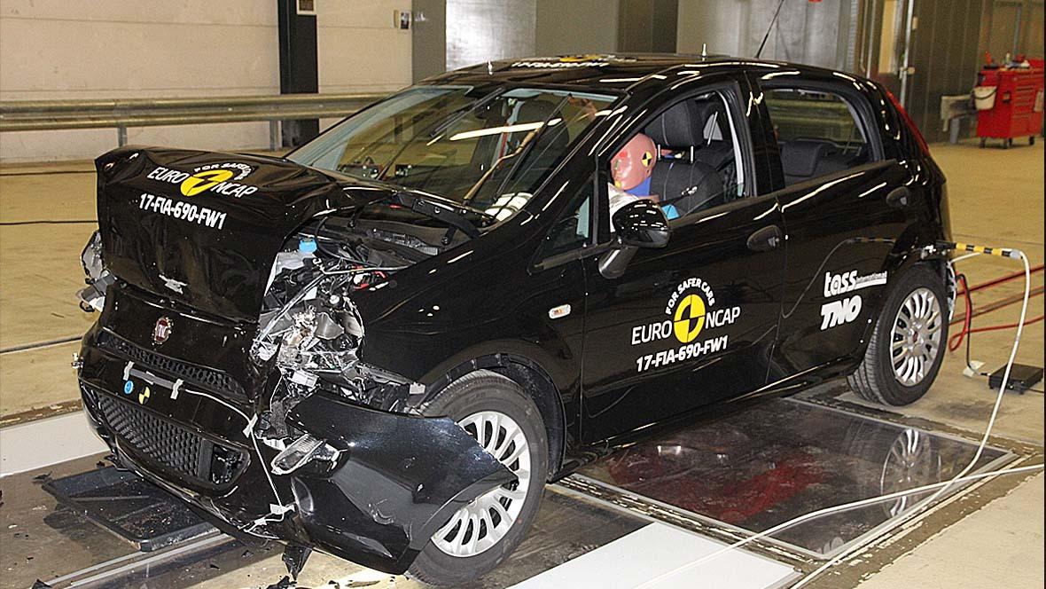 Euro NCAP: Null Sterne für Fiat Punto