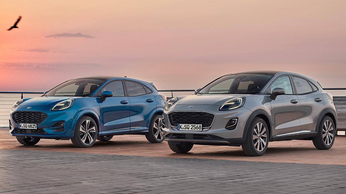 Mini SUV: Ford rollt neuen Puma an den Start