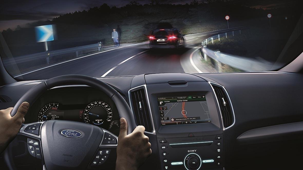 Automatisiertes Fernlicht Ford