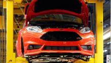 Ford Fiesta Produktion im Werk Köln