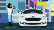 Kooperation Ford und Lyft