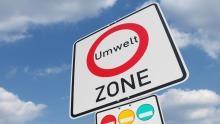 Umweltzone Schild Feinstaub Plakette