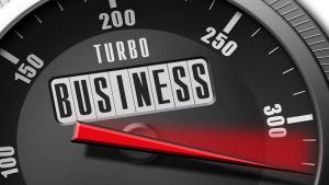 Geschäft Automobil Tacho Business