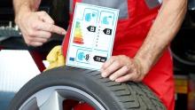 Reifenlabel Reifengeschäft