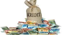 Kredit Geld Sack