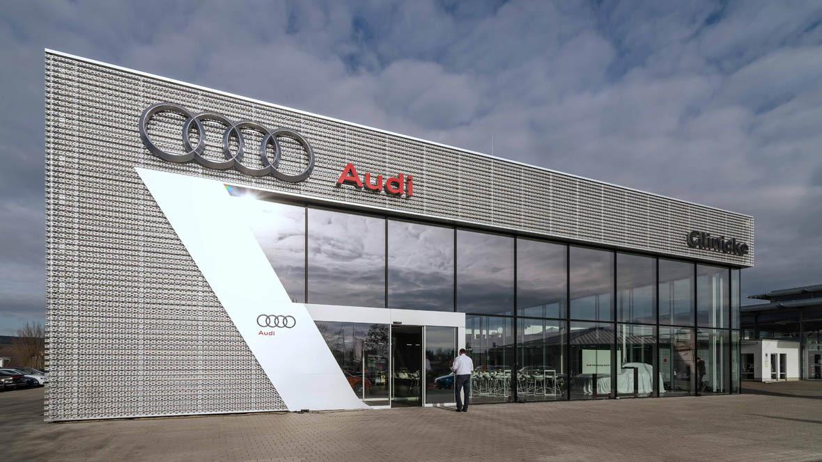 Audi-Terminal in Weimar
