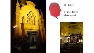80. Geburtstag Franz-Xaver Grünwald