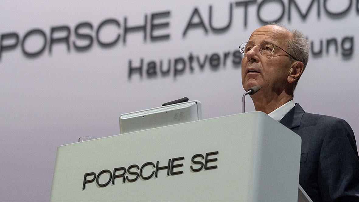 Hans Dieter Pötsch Porsche