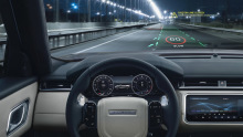 Jaguar Land Rover Head-up-Display