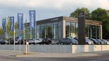 Neue Hyundai-CI im Autohaus Lichtblau