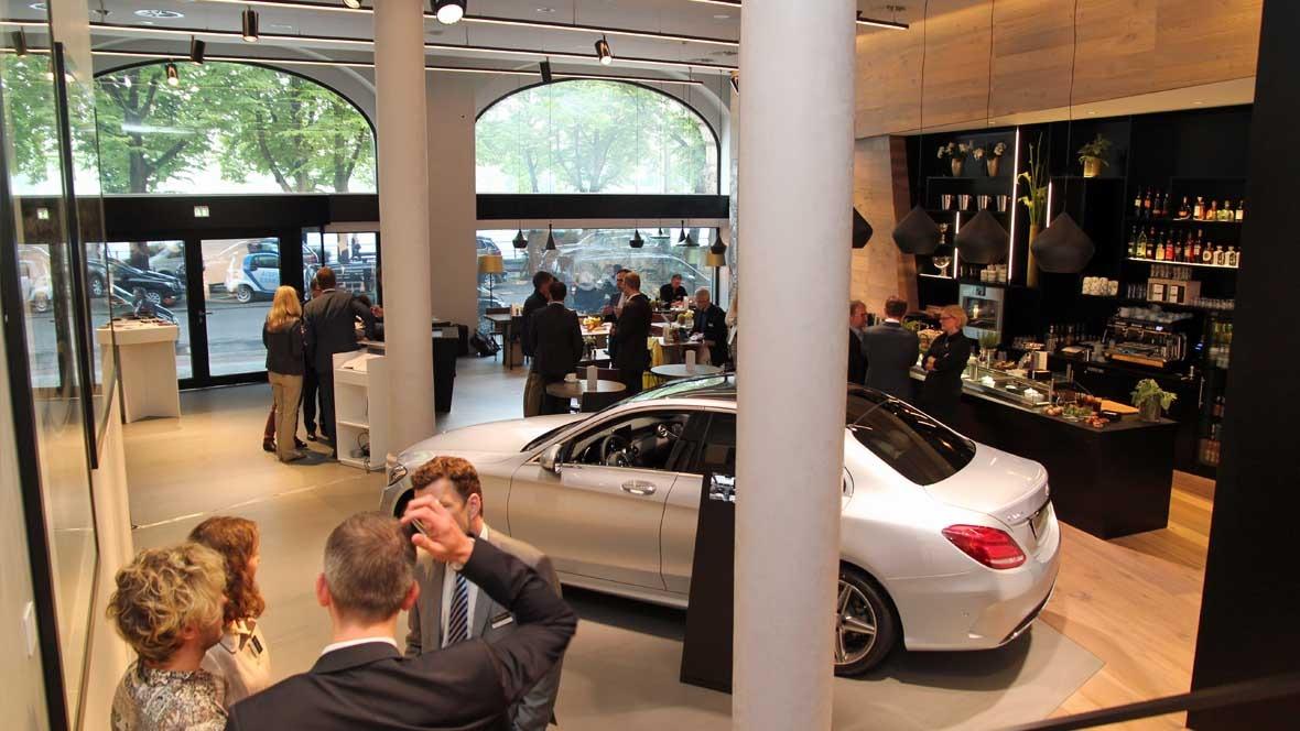 """Mercedes Me""-Store in Hamburg - autohaus.de"