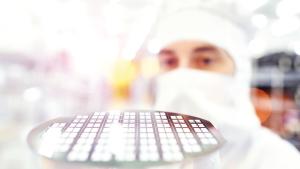 Infineon; Halbleiter; Mikrochips; Silizium; Wafer